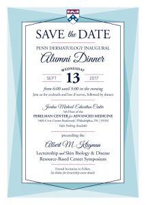 Kligman Alumni Dinner Save the Date
